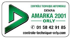 dekra amarka 2001 Orly